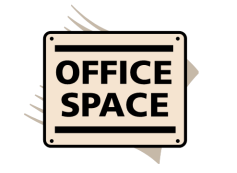 office space sign